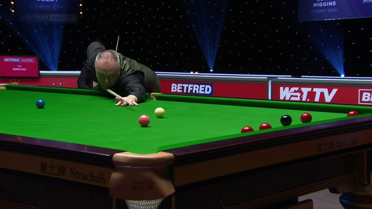 The Masters: Final : Higgins wins the 16th frame