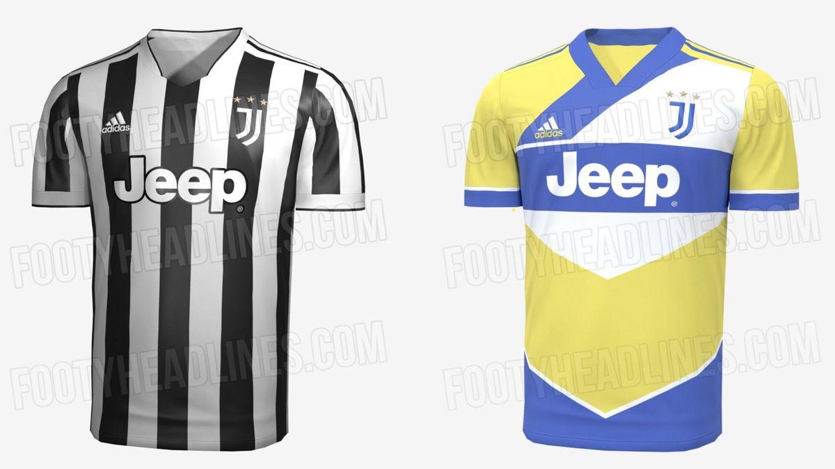 Maglia Juventus 2021/22, Credit Footyheadlines.com