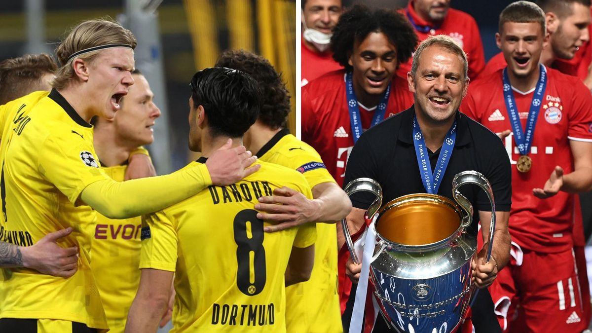 Große Ziele in der Champions League: Bayern und BVB