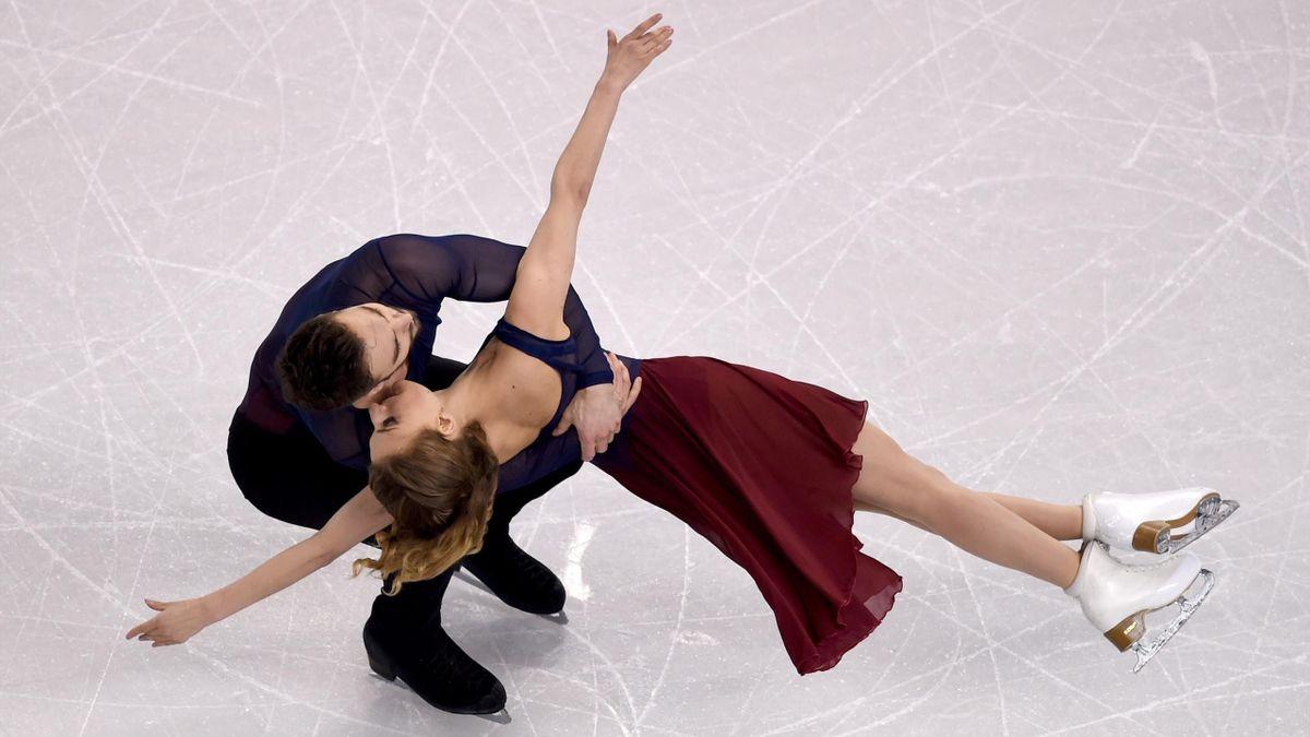 Gabriella Papadakis et Guillaume Cizeron ont été sacrés champion du monde de danse sur glace en 2016 à Boston.