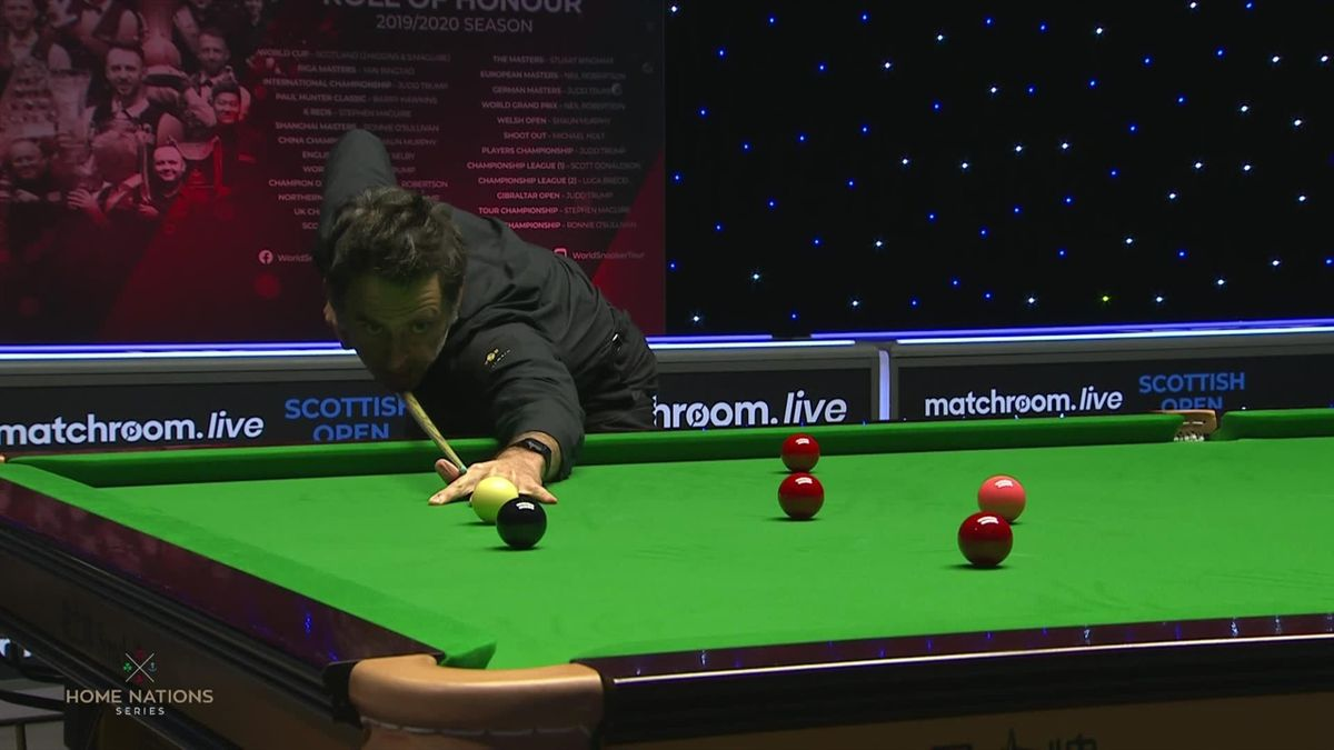 Snooker Scottish Open: Break of 84 by Ronnie O'Sullivan to be back at 2-4 against Hang Li