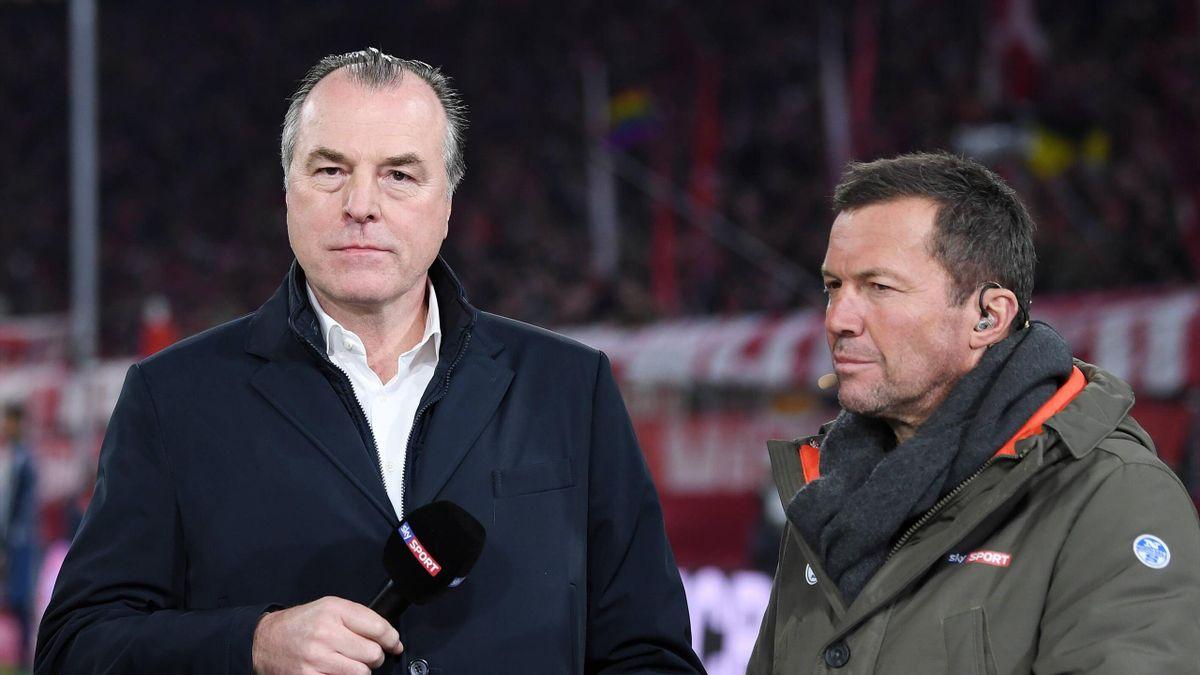 Clemens Tönnies (li.) und Lothar Matthäus