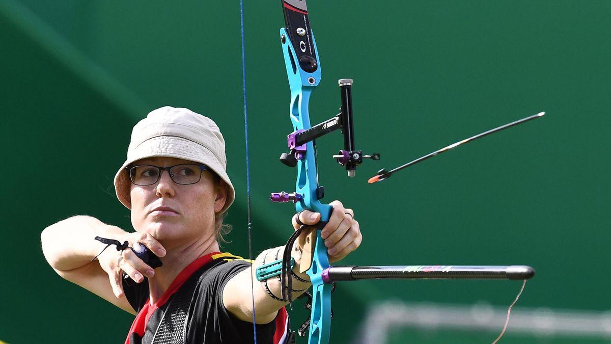 Lisa Unruh holte 2016 Olympisches Silber in Rio für Deutschland