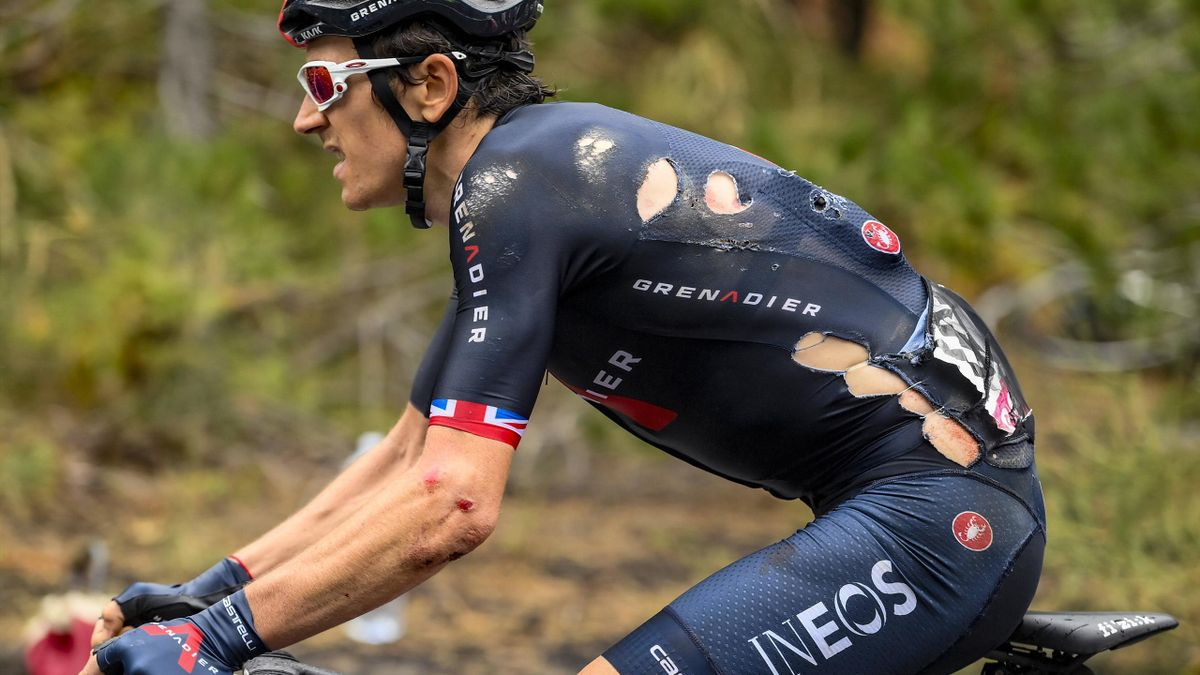 Giro d'Italia 2020 - Ineos cyclist Geraint Thomas confirms his season is  over after breaking pelvis - Eurosport