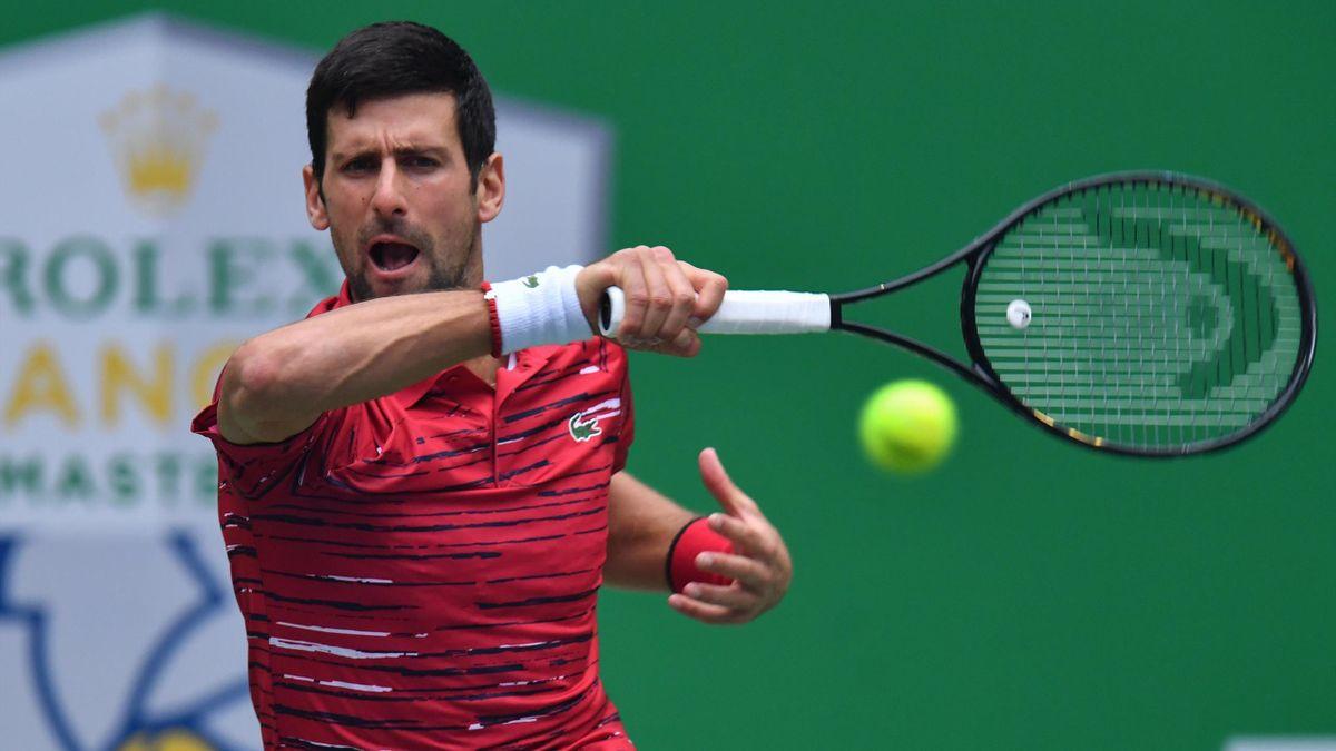 Djokovic, en el Shanghái Masters