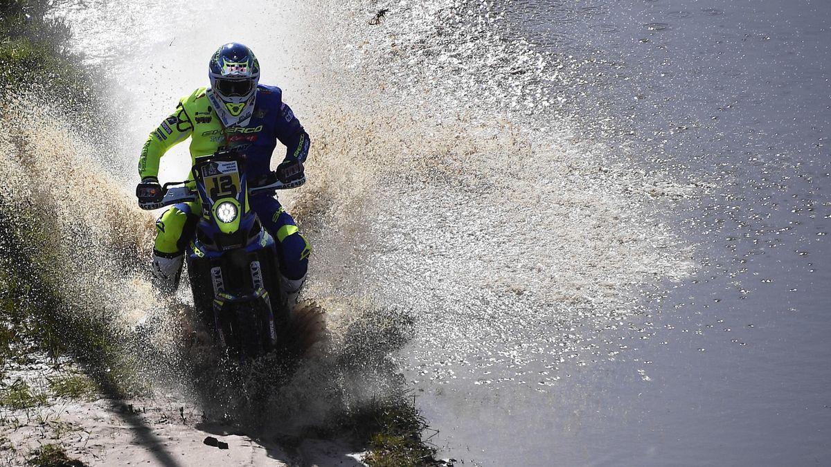 Pedrero Garcia, lors de la première spéciale du Dakar 2017