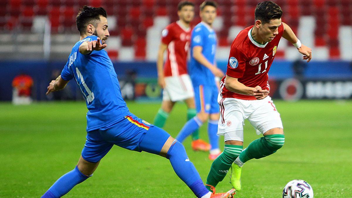 România - Ungaria 2-1, la Euro U21