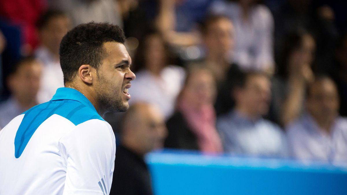 Jo-Wilfried Tsonga, finale tournoi de Marseille face au Letton Ernests Gulbis