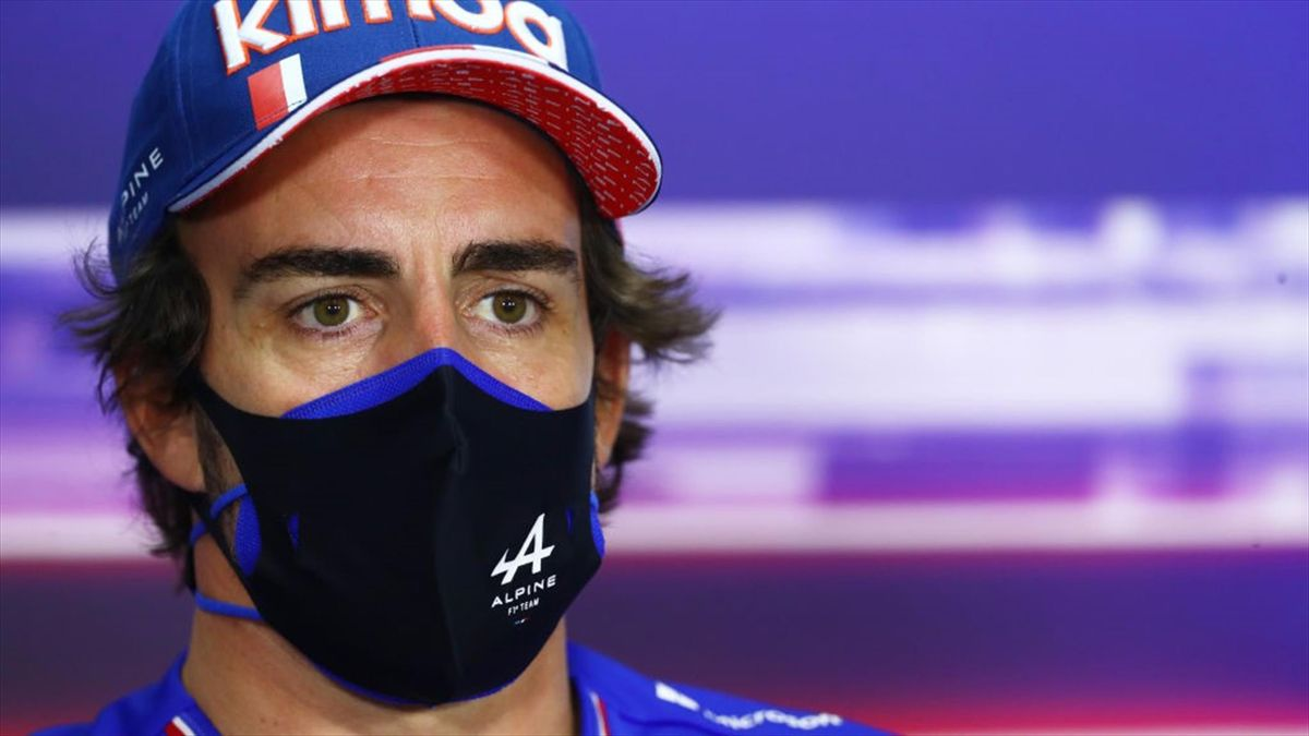 Fernando Alonso (Alpine) - GP of Bahrain 2021