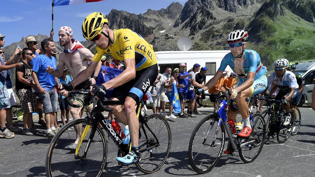 Tour de France 2015: Chris Froome (Sky), Vincenzo Nibali (Astana), Nairo Quintana (Movistar)