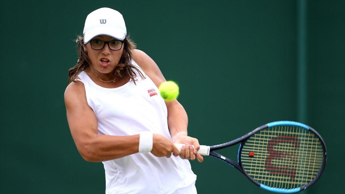 Ane Mintegi en Wimbledon 2019