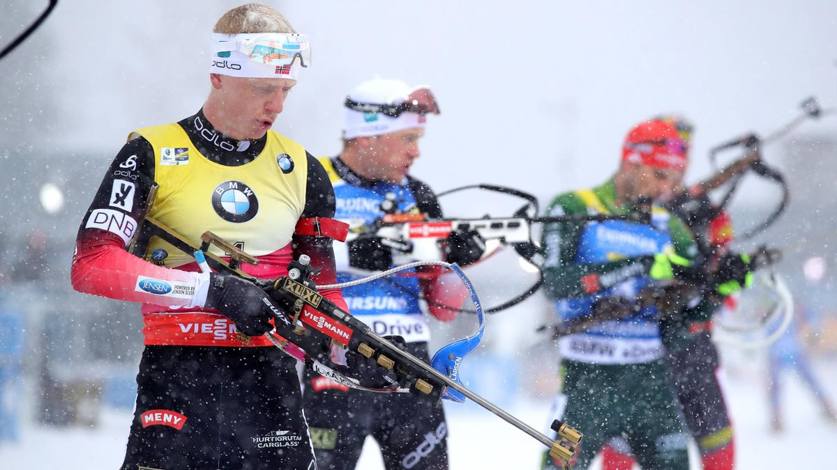 Johannes Thingnes Boe - 2019 - Men's Mass Start Biathlon World Championships - Getty Images