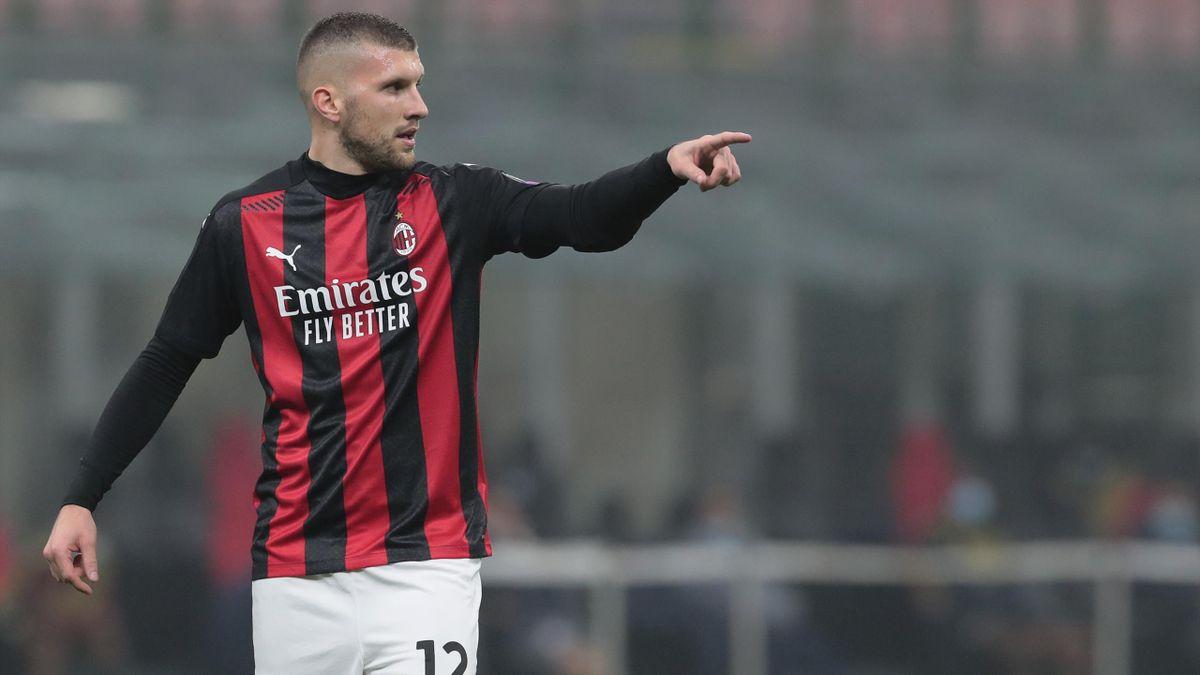 Ante Rebic vom AC Mailand