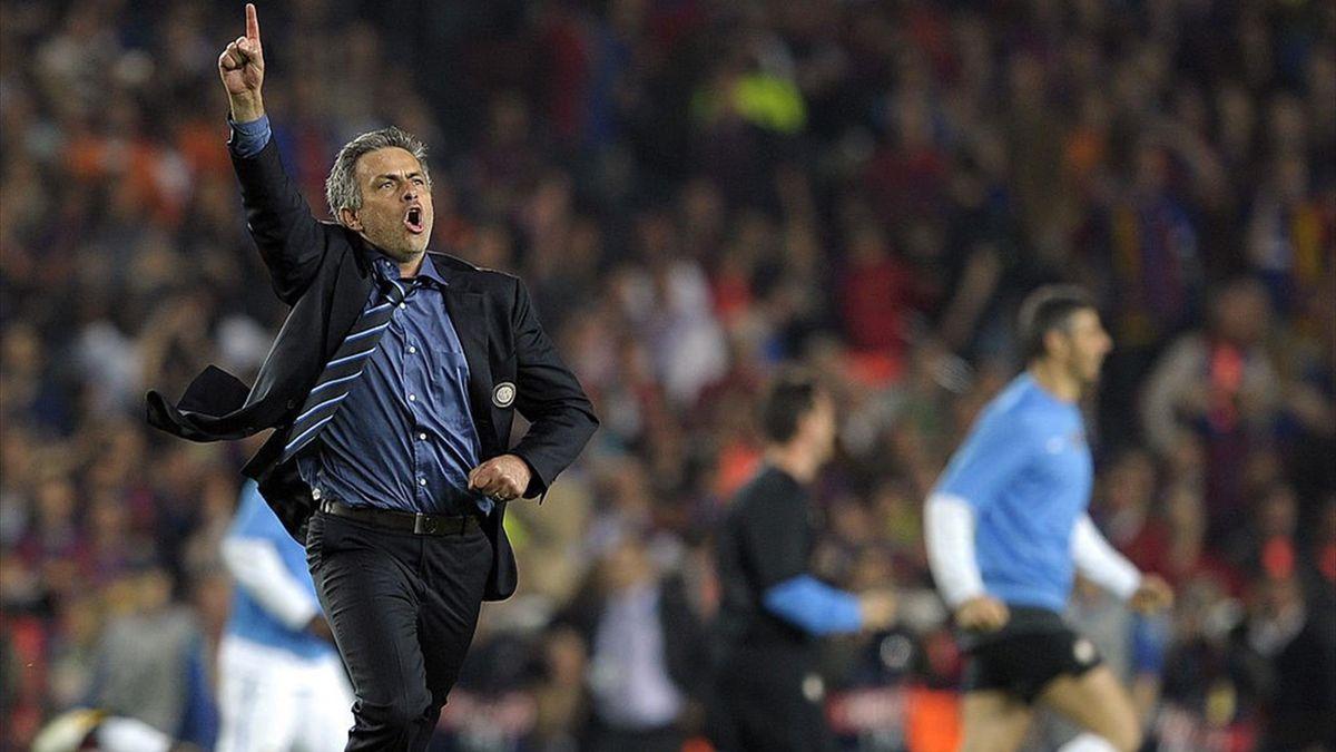 José Mourinho - Barcellona-Inter 2010