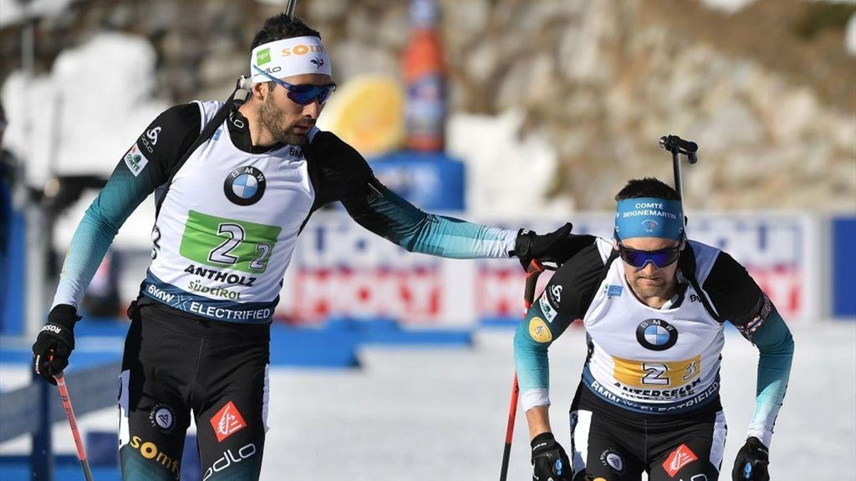 Biathlon Antholz Men Relay 4x7,5 Km Highlights