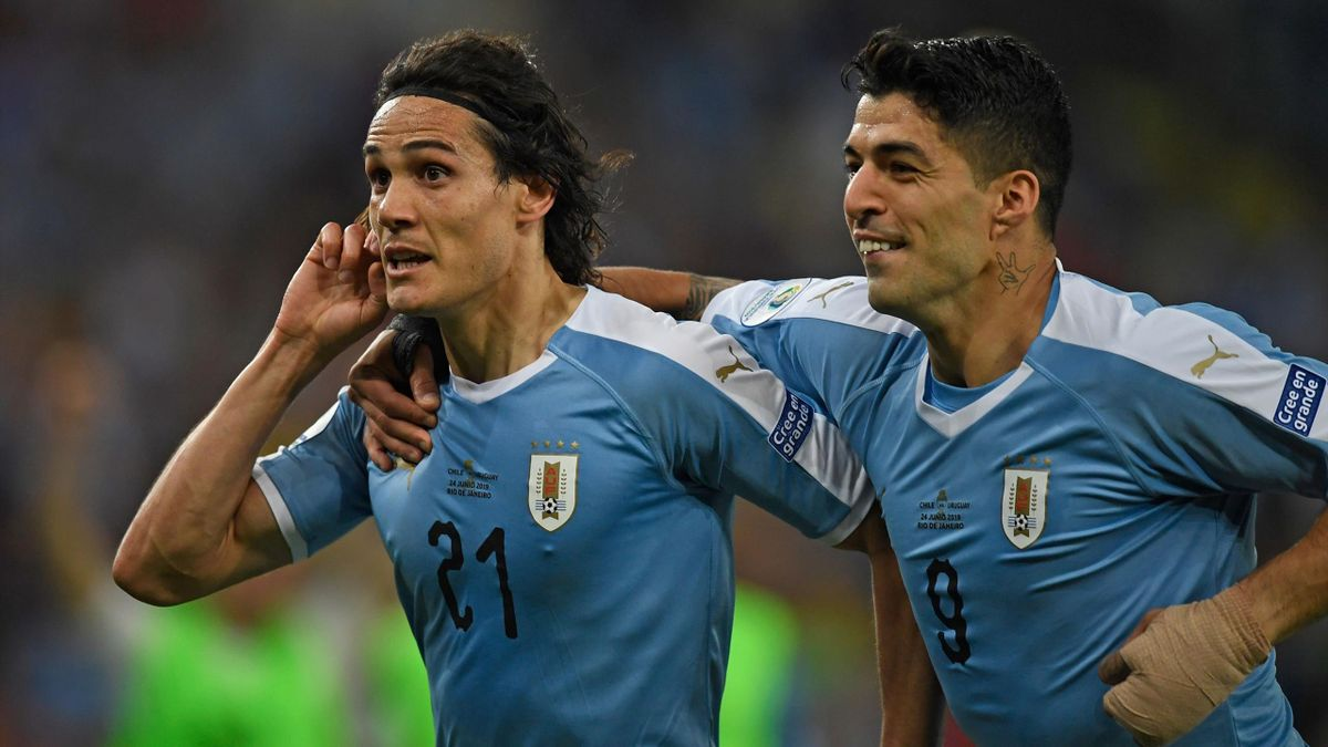 Edinson Cavani & Luis Suarez