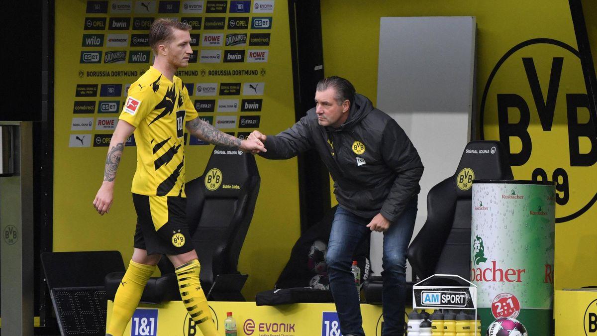 Marco Reus und Michael Zorc