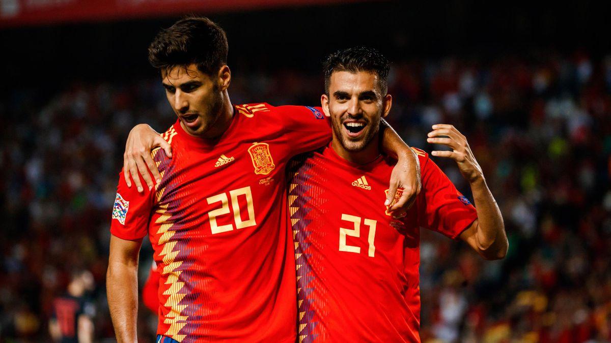 Marco Asensio y Dani Ceballos (España)