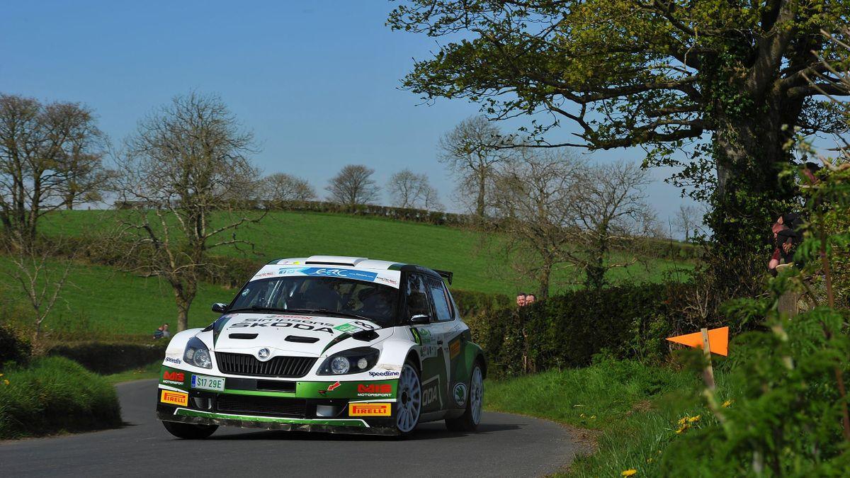 Oster-Showdown bei der Circuit of Ireland-Rallye