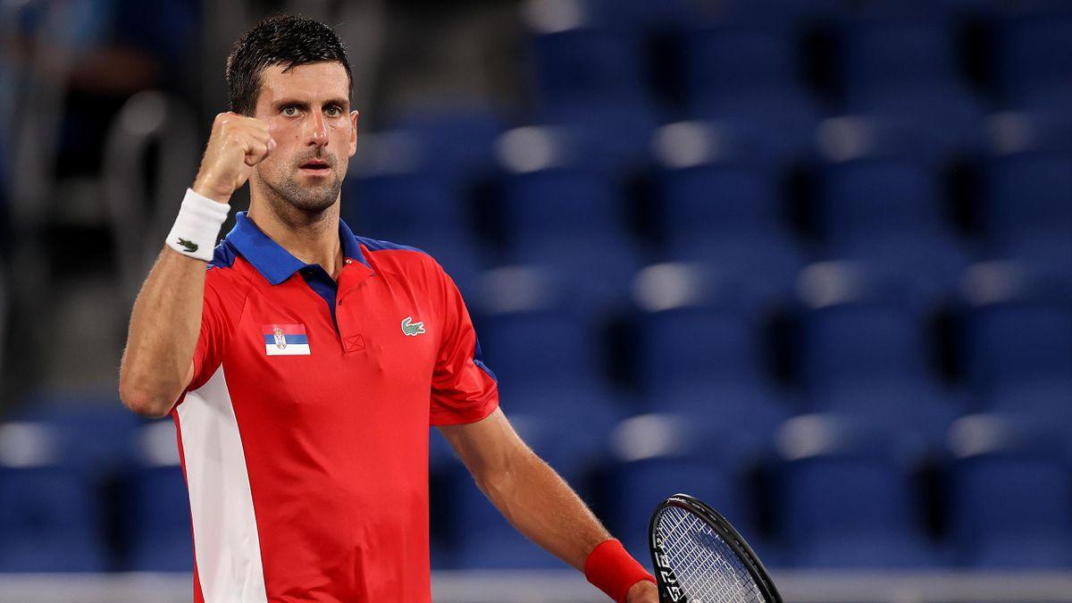 Novak Djokovic fordert Alexander Zverev im Halbfinale