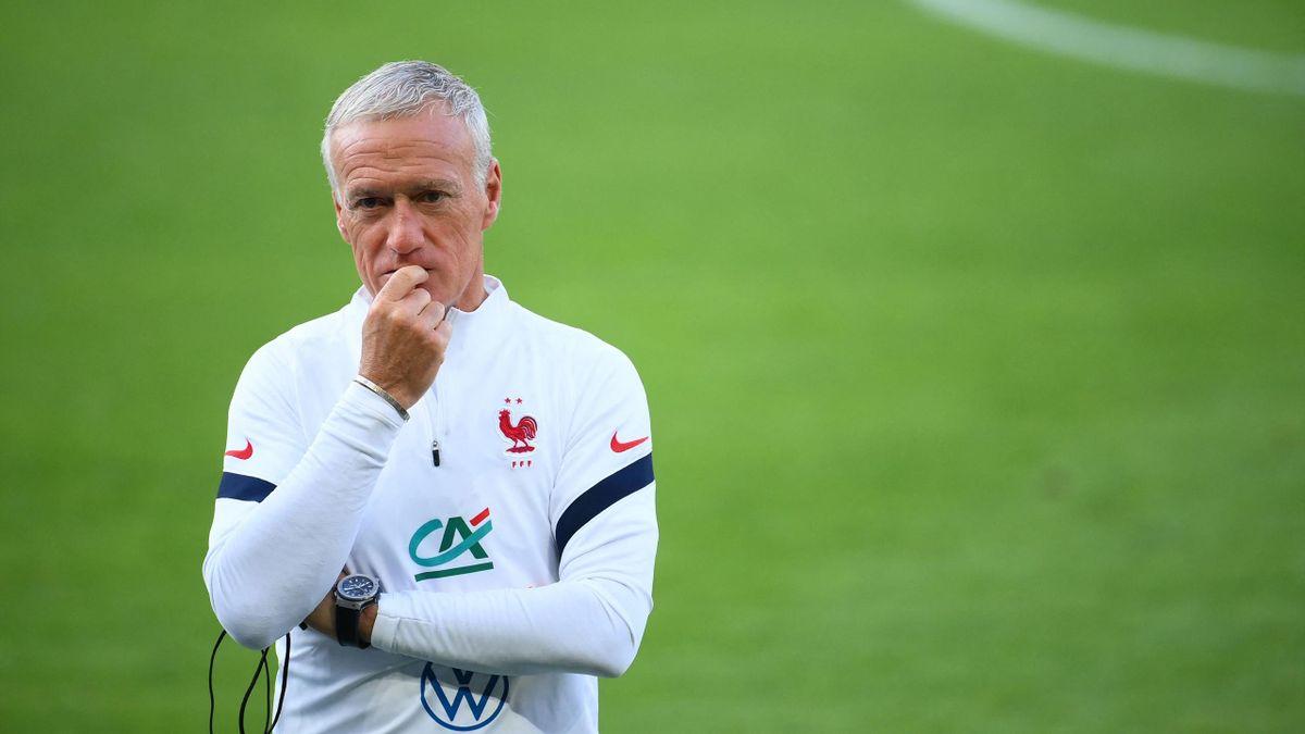 Didier Deschamps avec l'équipe de France, 2021
