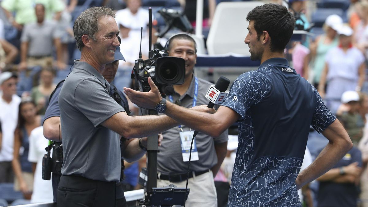 Darren Cahill & Novak Djokovic