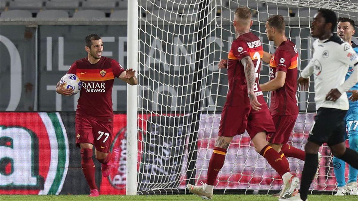 Henrikh Mkhitaryan - Spezia-Roma Serie A 2020-21