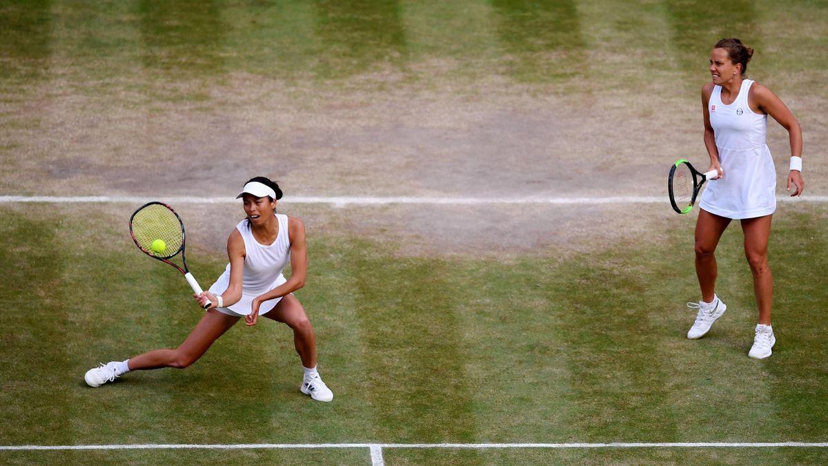 Hsieh Su-Wei, Barbora Strycova, Wimbledon
