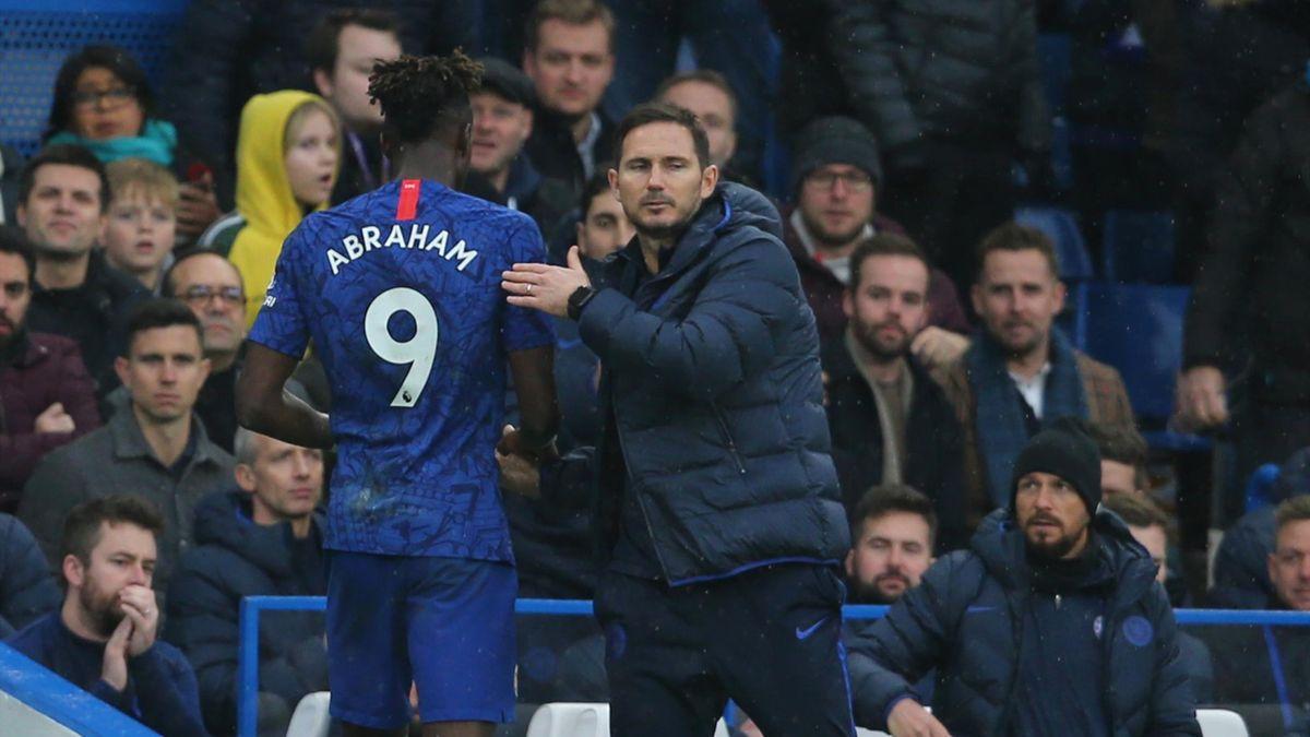 Abraham, Lampard - Premier League 2019-2020 - Imago pub not in UK