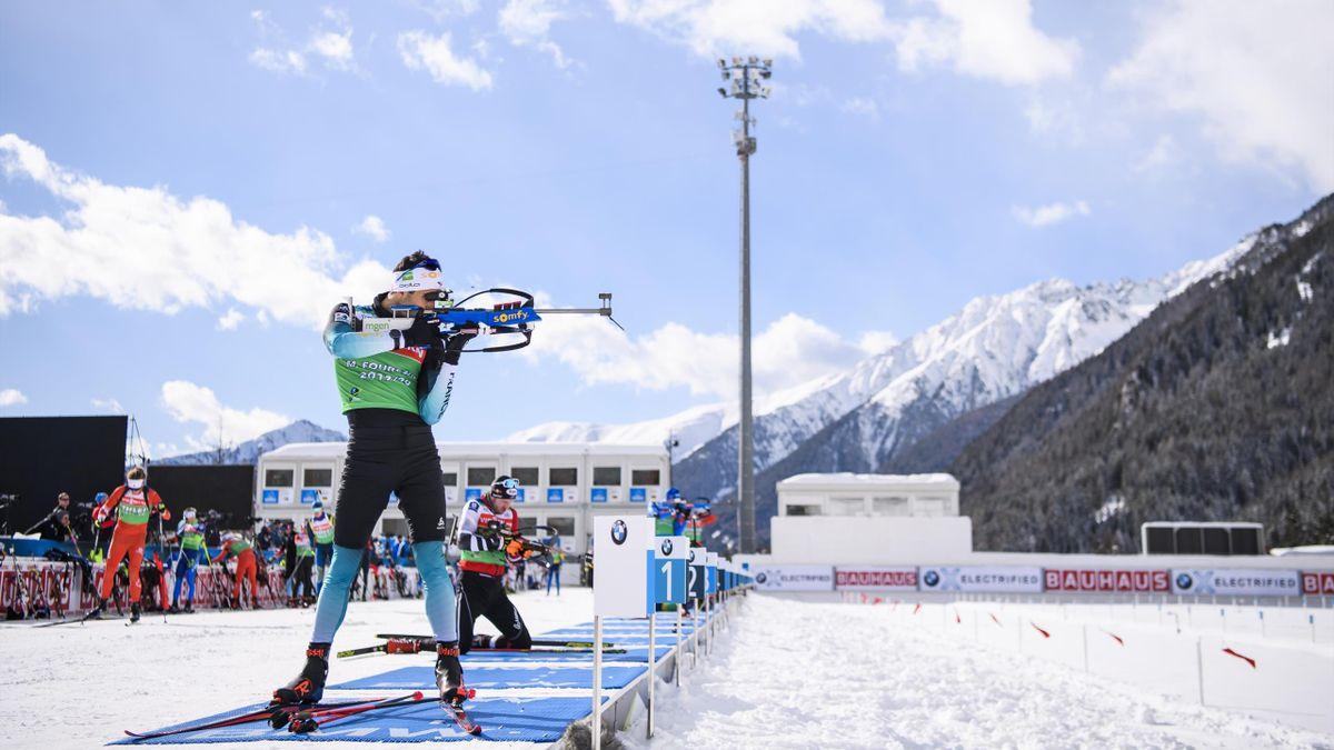 Biathlon-WM in Antholz