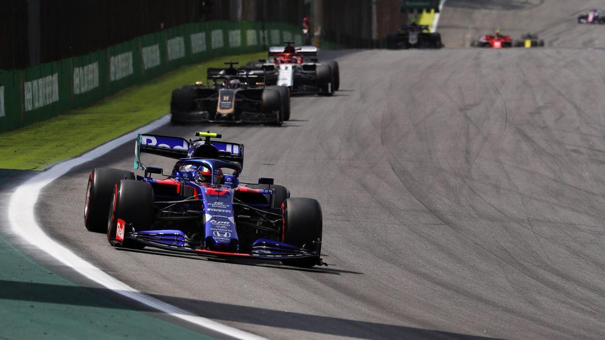 Pierre Gasly au Grand Prix du Brésil