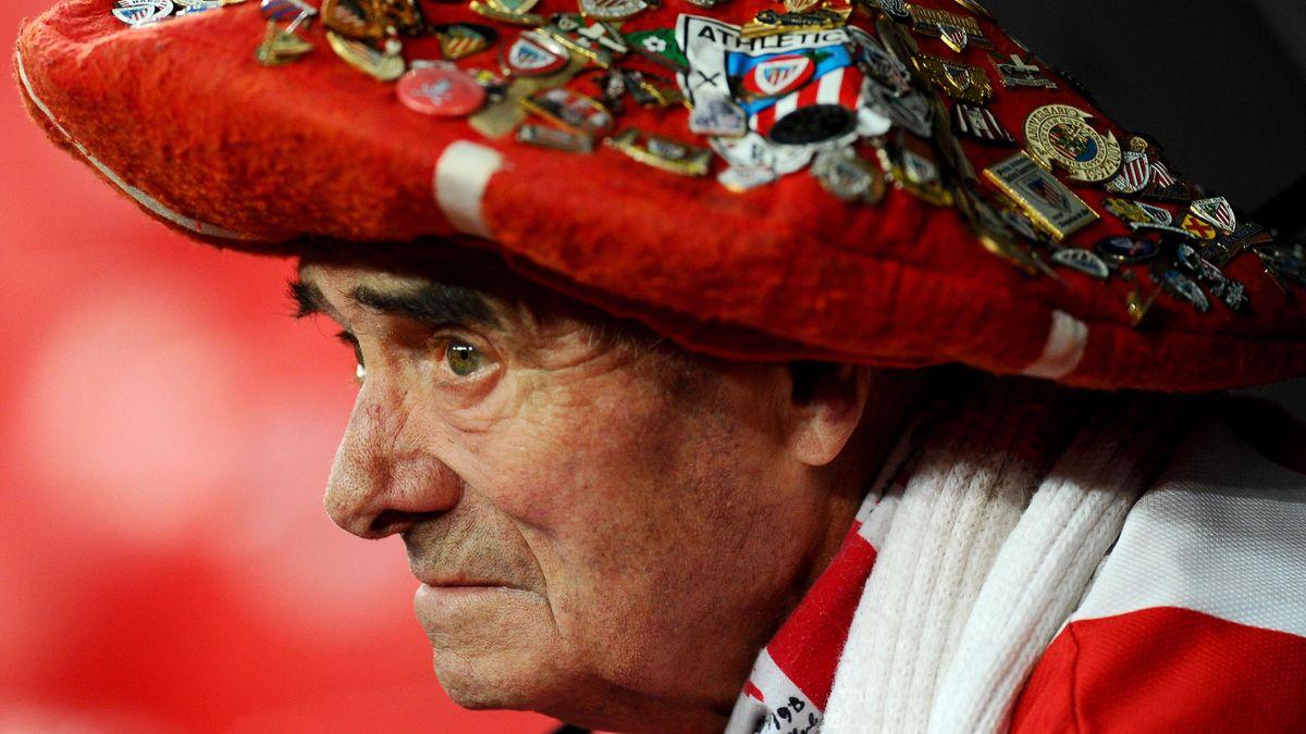Trauriger Fan von Athletic Bilbao