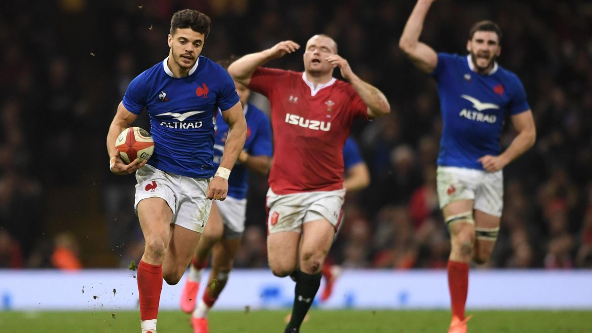 Ntamack - Wales-France - Six Nations 2020 - Getty Images