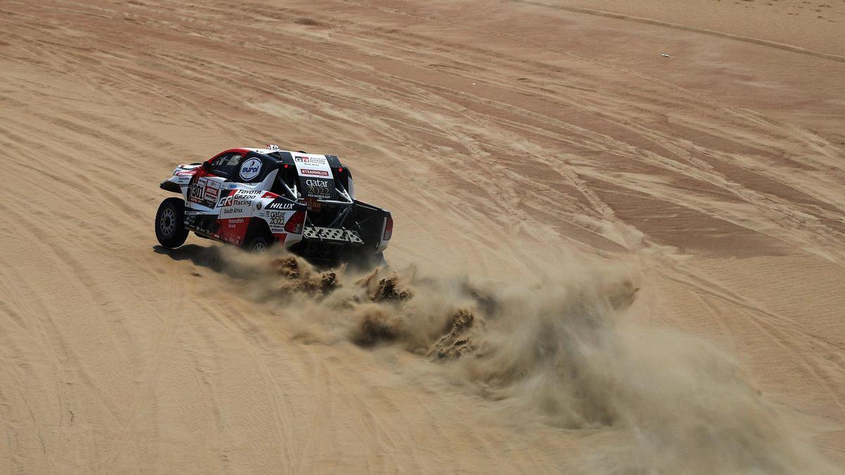 Nasser Al-Attiyah (Toyota) lors du Dakar 2019
