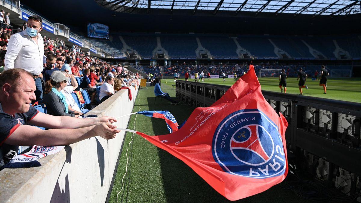 Du public au Havre pour voir le match amical face au PSG
