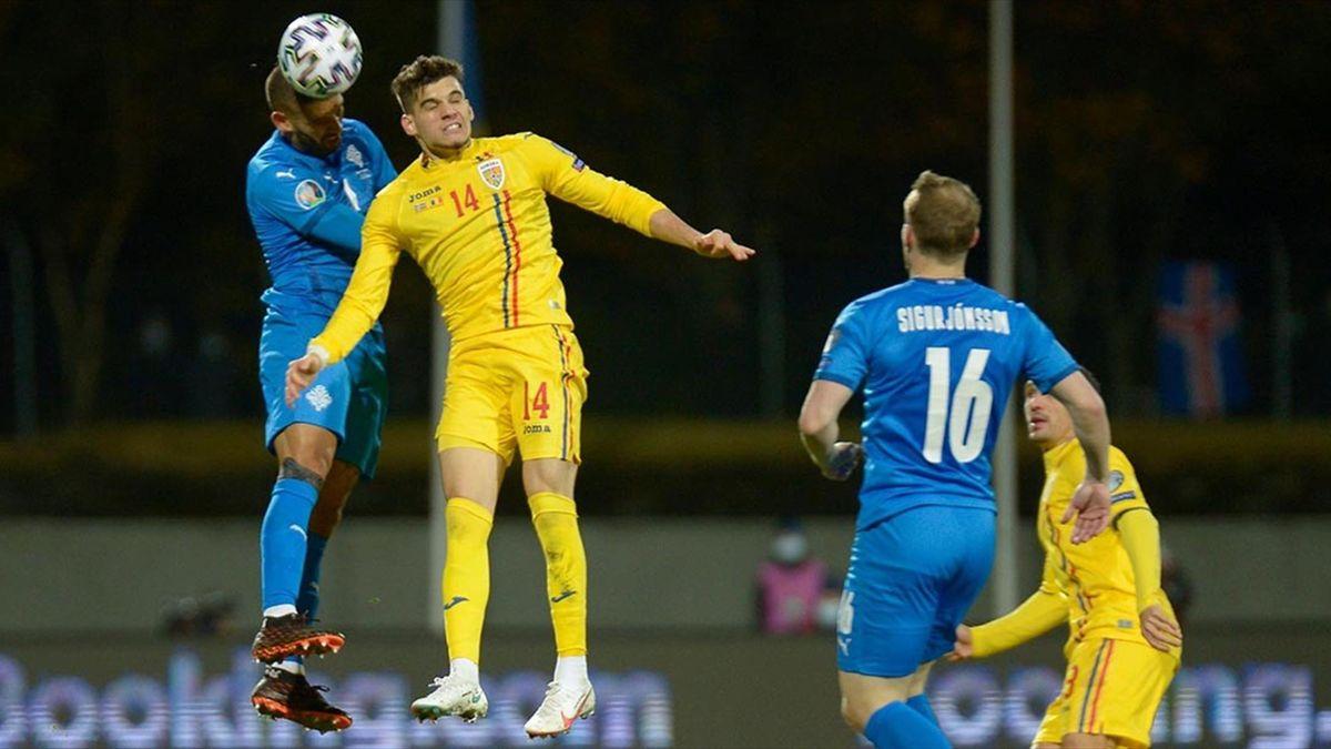 Islanda - România 2-1, în semifinalele barajului pentru Euro 2021