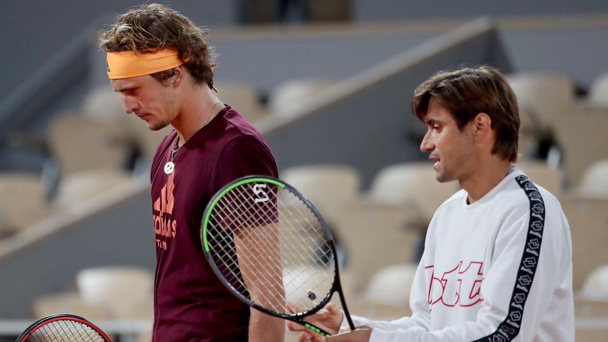 Alexander Zverev and David Ferrer