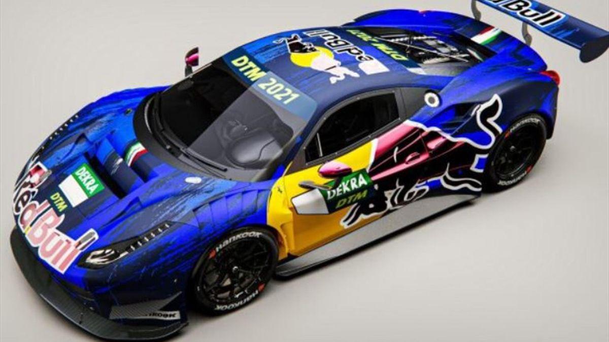 Red Bull/Ferrari - DTM - Screenshot: Red Bull