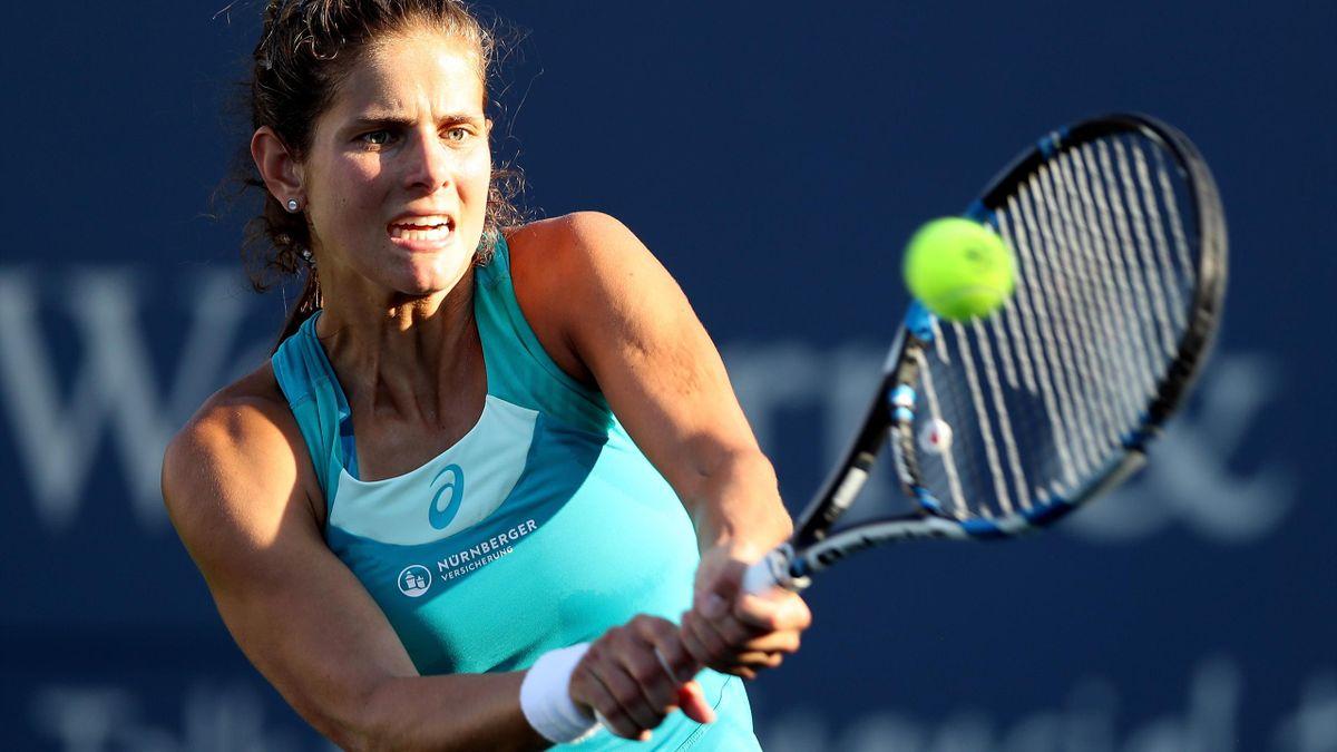 Aus im Viertelfinale: Julia Görges
