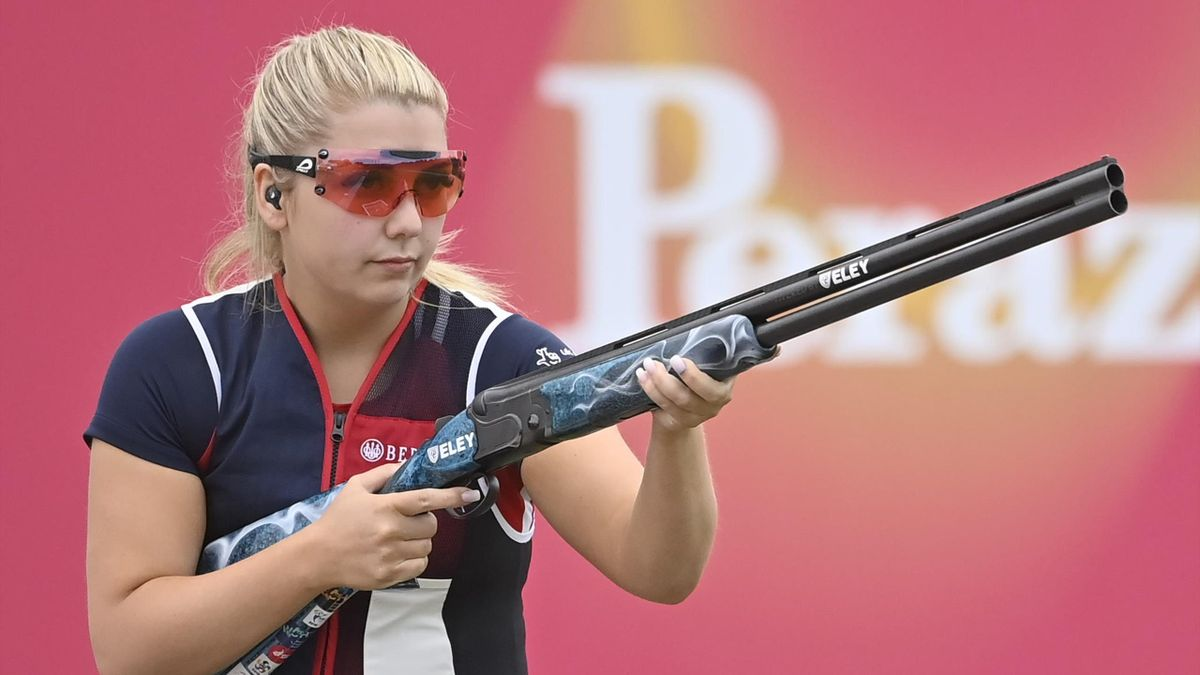 Amber Hill has been picked for her second Olympics