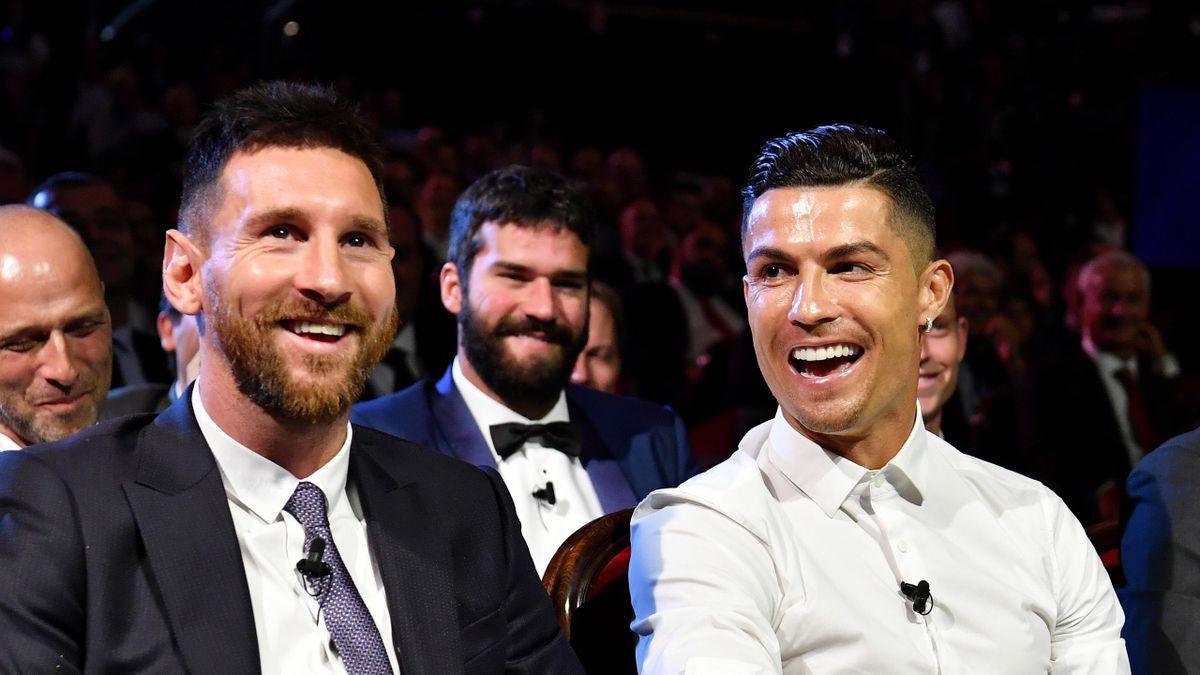 Messi și Ronaldo, la gala Balonul de Aur
