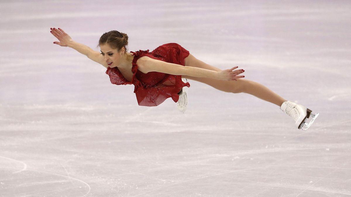 Eiskunstlauf bei Olympia 2018: Carolina Kostner (Italien)