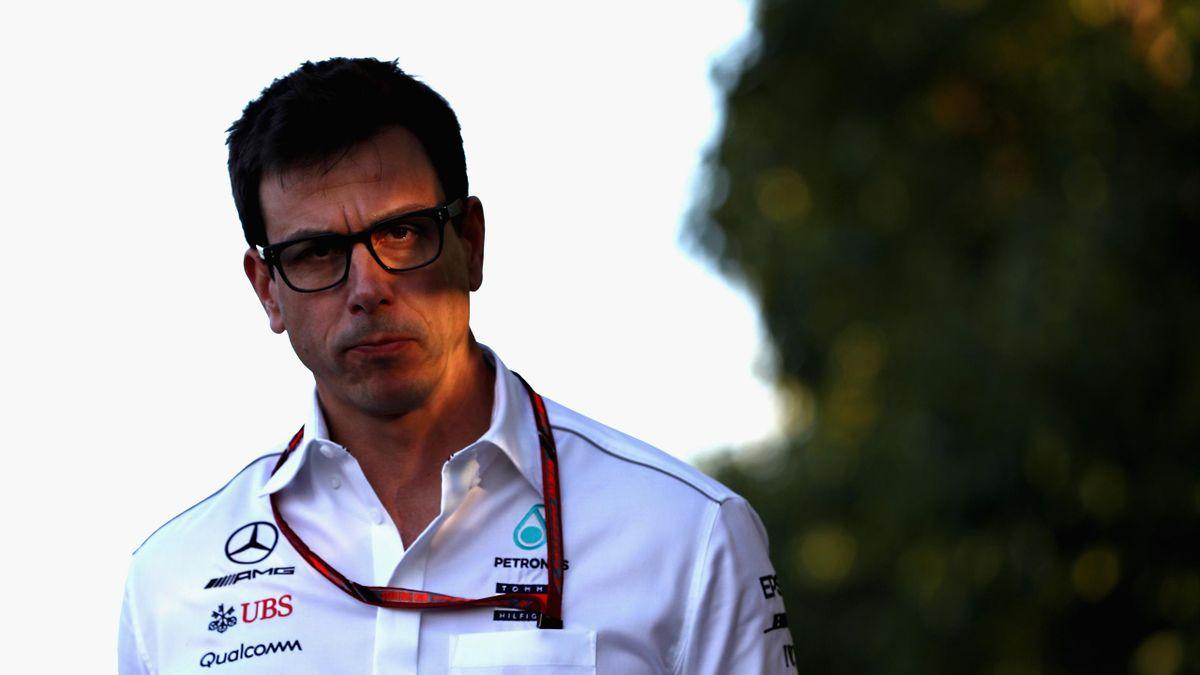 Toto Wolff (Mercedes) au Grand Prix d'Australie 2018