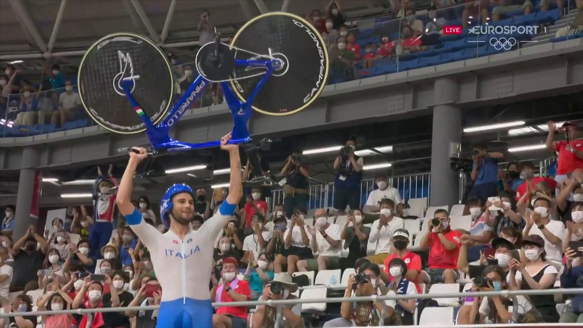 'Absolutely remarkable' - Italy celebrate team pursuit golden glory