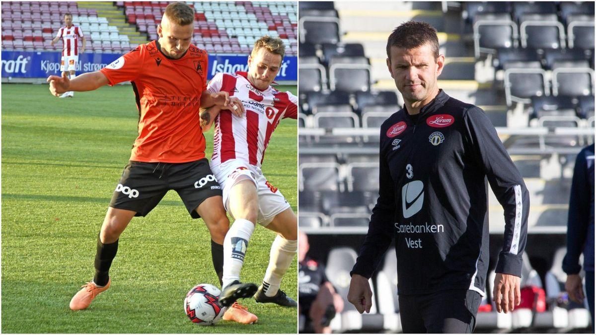 Kristoffer Valsvik og Eirik Bakke
