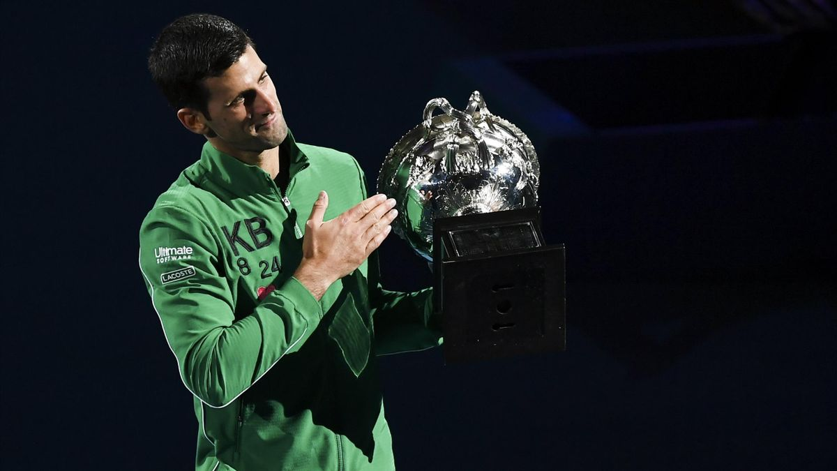 Новак Джокович, Australian Open 2020