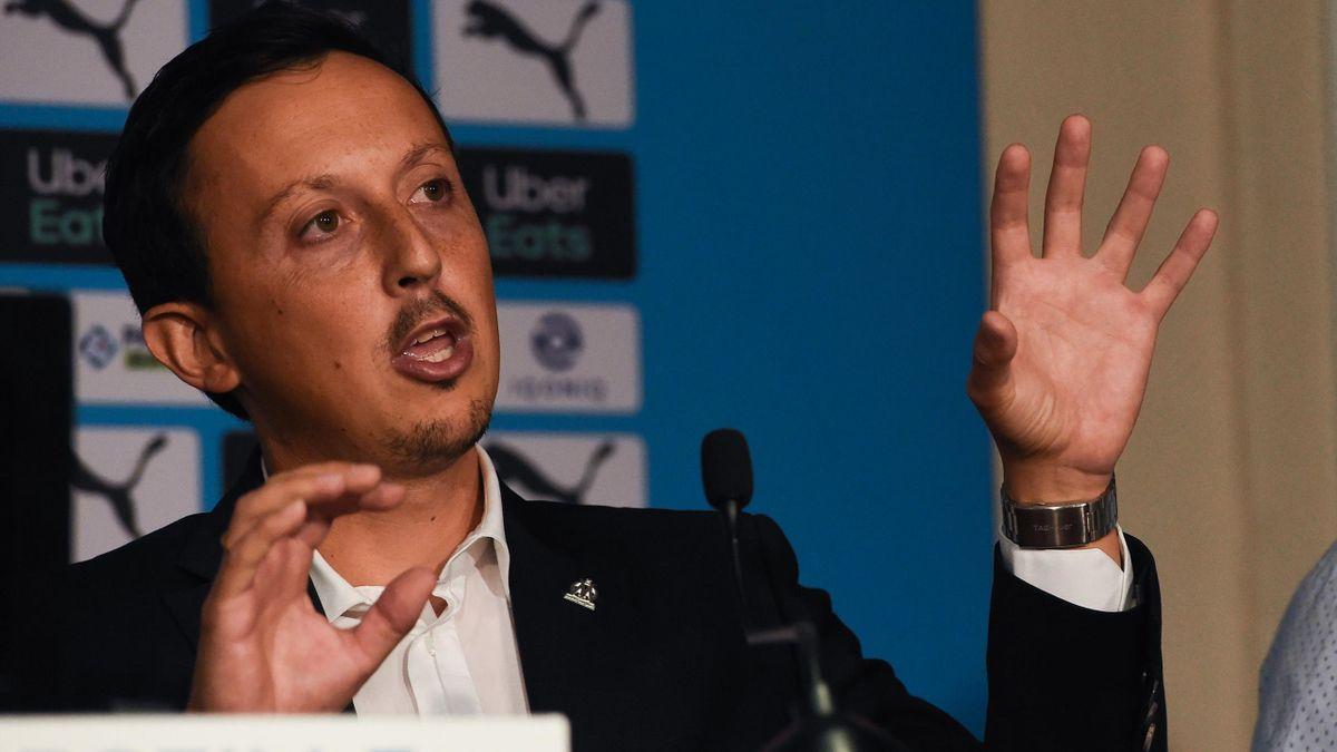Pablo Longoria, le directeur sportif de l'OM