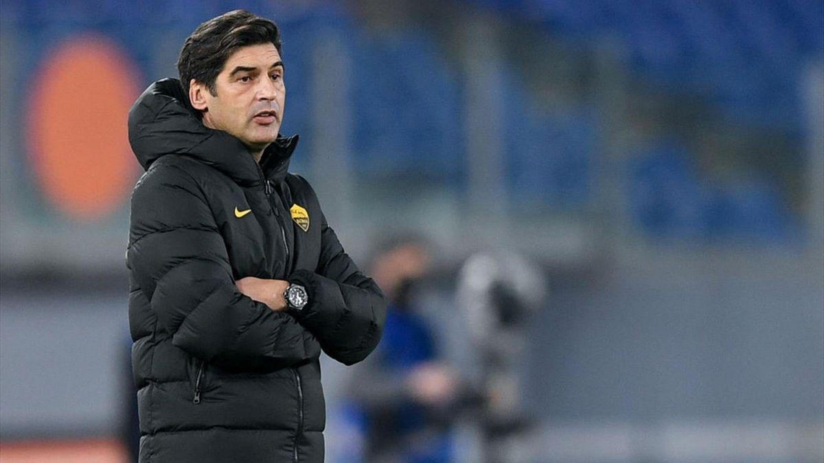 Fonseca - Roma-Spezia - Coppa Italia 2020/2021 - Getty Images