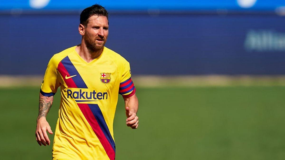 Lionel Messi - Deportivo Alavés-Barcelona - Liga 2019/2020 - Getty Images