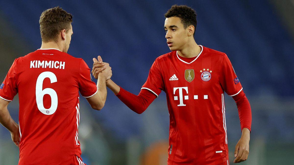 Joshua Kimmich (links) und Jamal Musiala - FC Bayern